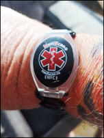 medical information wristband